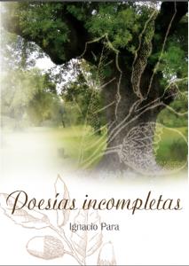 Portada libro poesias