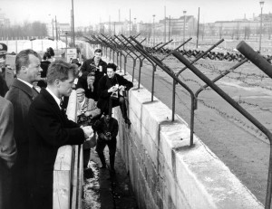 Robert F. Kennedy visits West Berlin in 1962